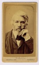 Thomas Carlyle Autograph Signed Photo
